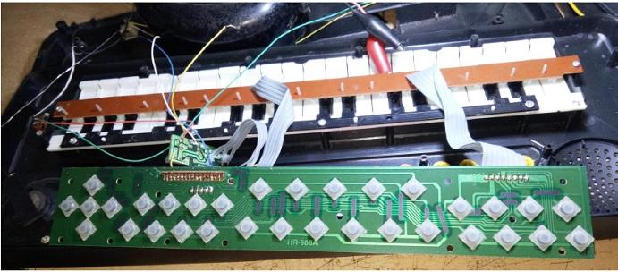 how to repair music keyboard