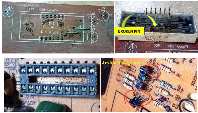 tcl induction cooker repairing