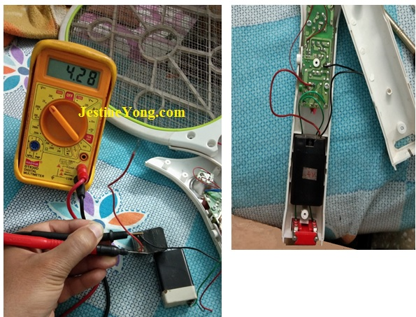 how to check faulty battery voltage