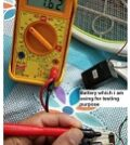 Rechargeable Battery Problem In Mosquito Killer Racket