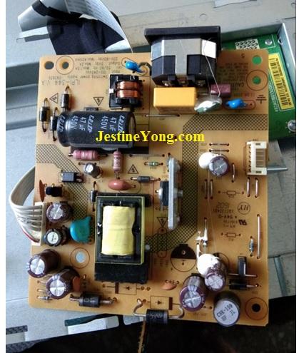 dell lcd monitor power supply repair
