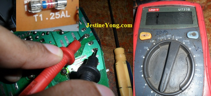 open fuse testing