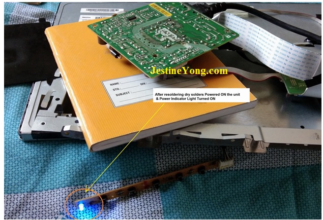 how to repair a broken DELL LCD Monitor with no power symptom