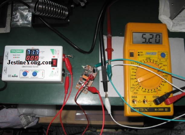 led backlight tester to test small power supply