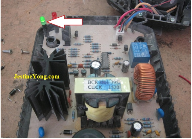 how to fix a broken drill battery charger
