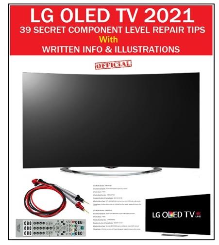 lg oled tv repair tips