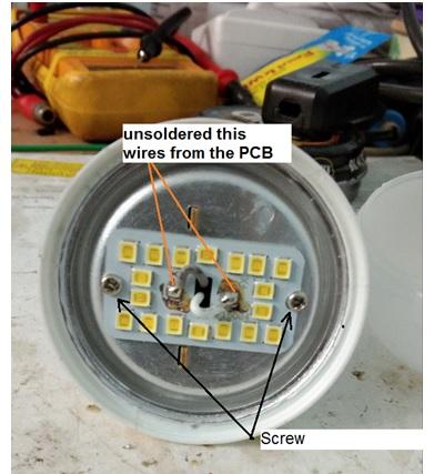 how to fix 9 watt led bulb