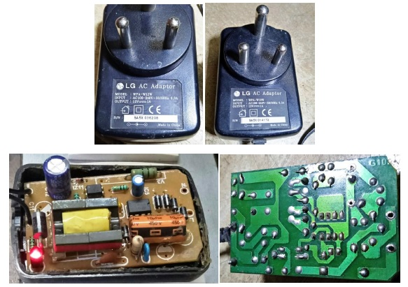 how to repair power supply adapter