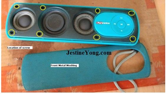 bluetooth speaker repairing