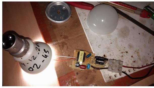 fixing led bulb