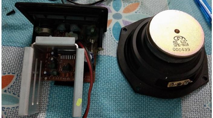 how to repair speaker