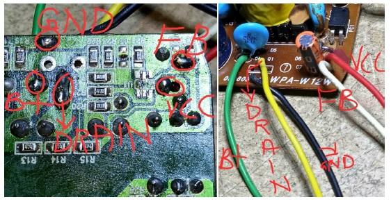 how to fix power adaptor