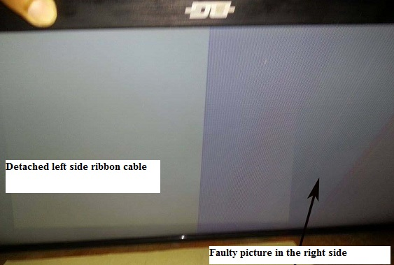 fixing bad picture in lcd tv