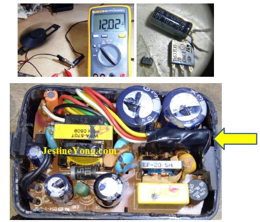 fixing power adaptors
