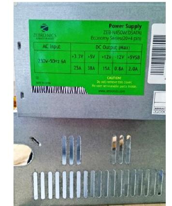 zebra atx power supply repair