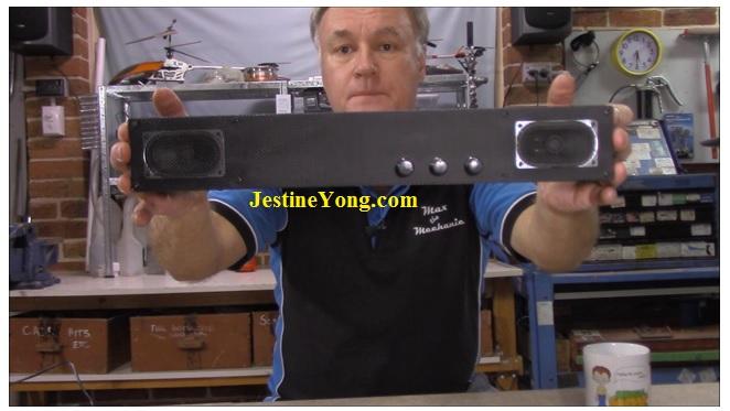 diy amplifier 100 w project