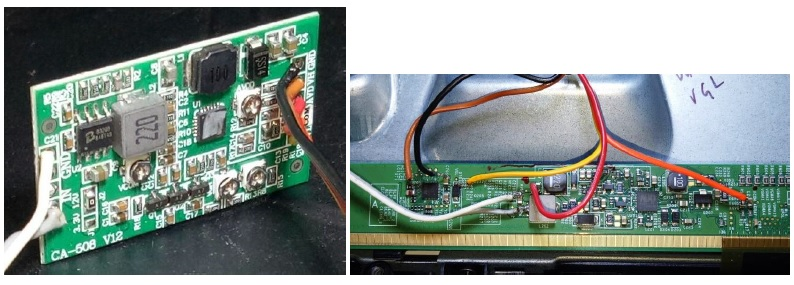 booster board on led tv