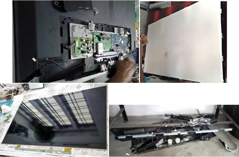 how to fix sony bravia led tv