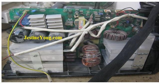 fixing welding machine repair