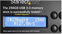 usb memory tester
