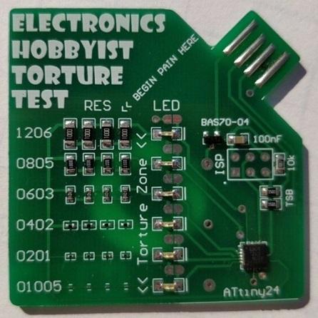 electronics hobbyist torture test