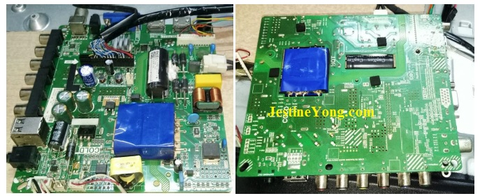 how to repair vu led tv