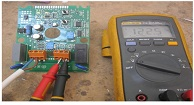 A Faulty Water Pressure Board Repaired