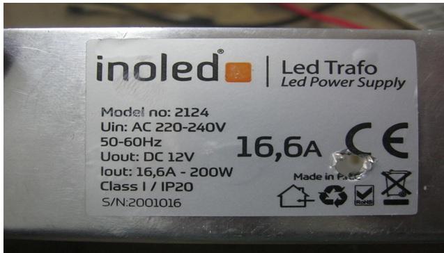 inoled power supply repair