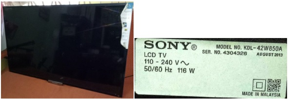 led tv repair sony