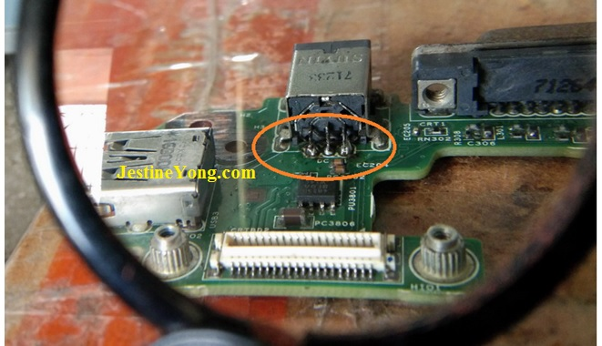 how to use magnify glass on circuit board