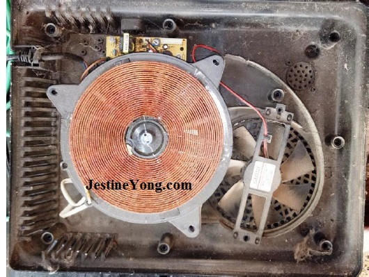 how to fix and repair induction cooker