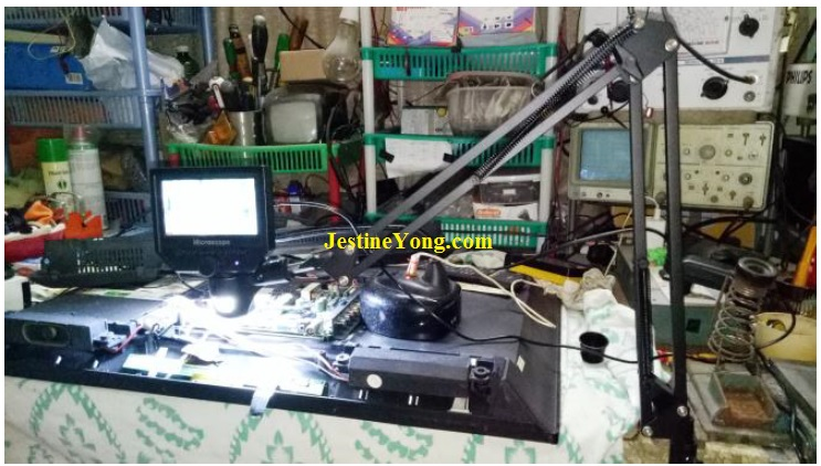 how to fix led tv haier