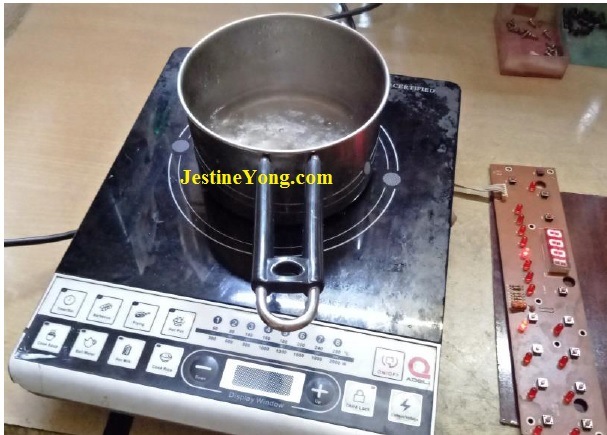 how to fix a broken induction cooker