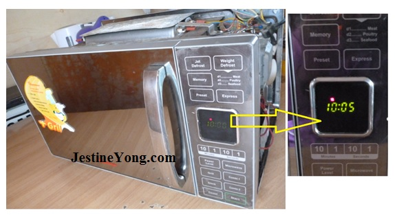 how to fix rantoms microwave oven