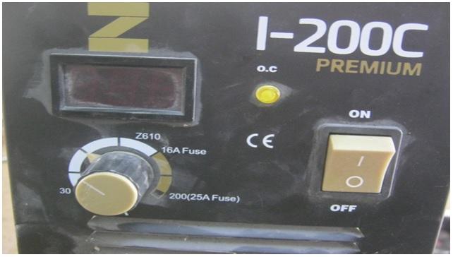 zika welding machine repair