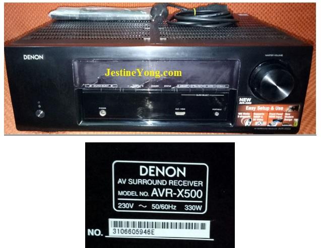denon avr-x500 repair
