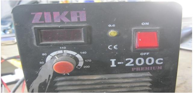 zika premium welding machine repair