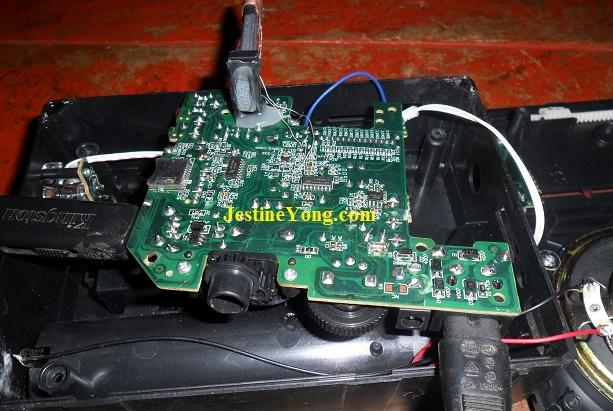 radio usb circuit board repair