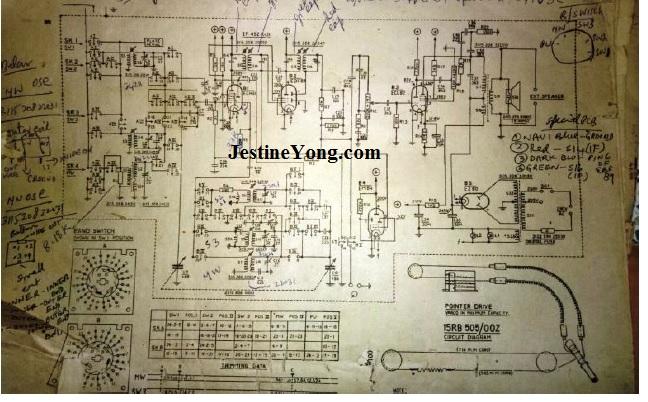 philips valve radio repair circuit board schematic