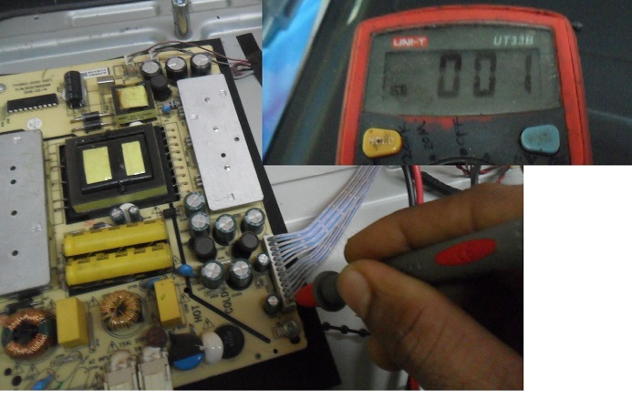how to fix a broken haier led tv