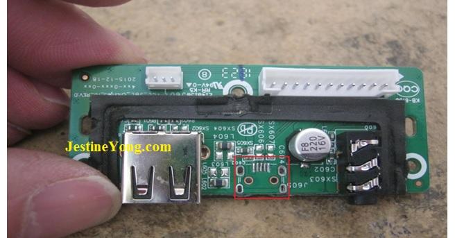 charging port circuit boARD