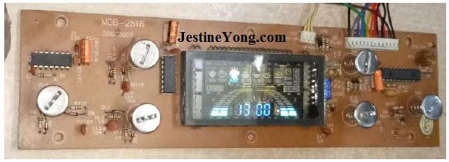 circuit board cooker induction repair