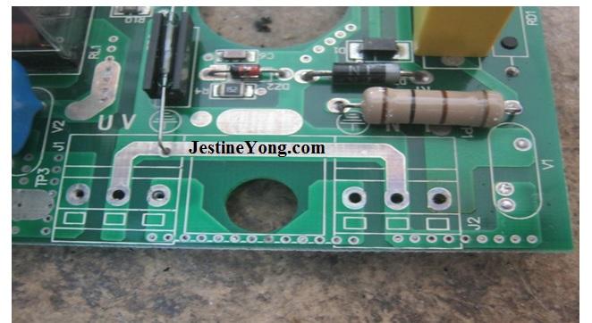 water pump circuit board repair
