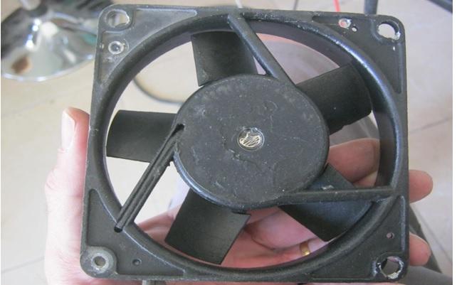 welding machine fan bad