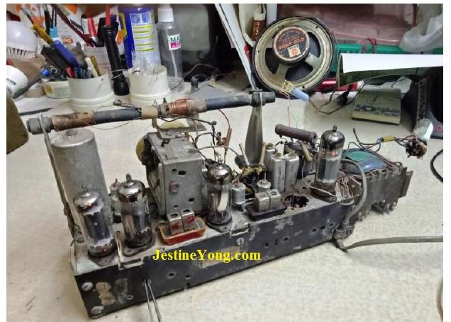 Radio feeding 455Khz Modulated Signal
