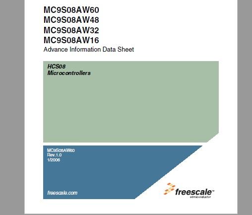 microcontroller ic mc9s08aw60