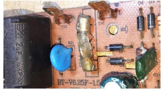 broken fuse
