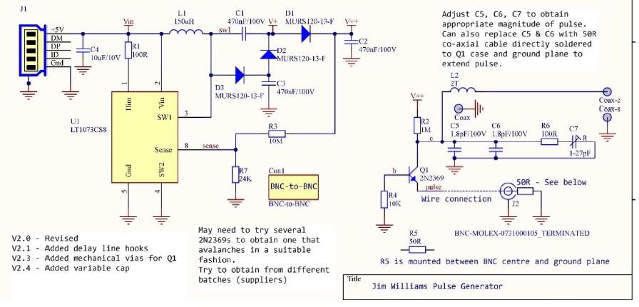 pulse generator circuit diagram