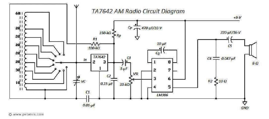 how to make your own radio schematic
