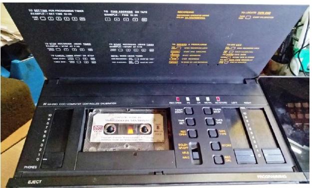 how to fix a broken olufsen bang tape deck